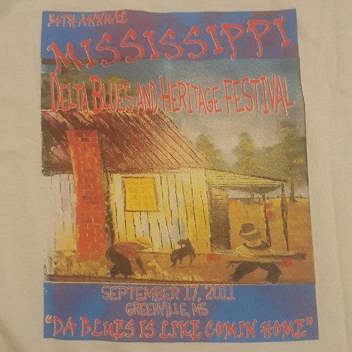 2011 Mississippi Delta Blues T-Shirt
