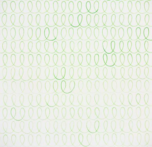 אורך חיים של טוש ירוק בהיר 2010  טוש על