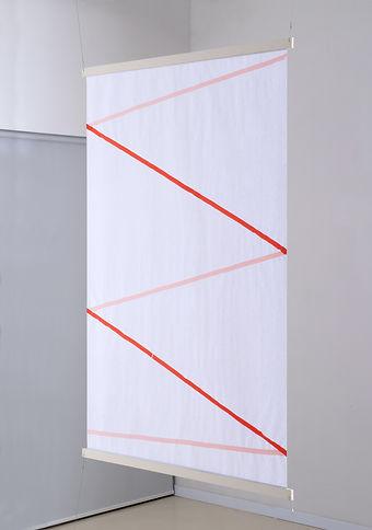 ללא כותרת 2017 (אדום) טוש על נייר 135X91