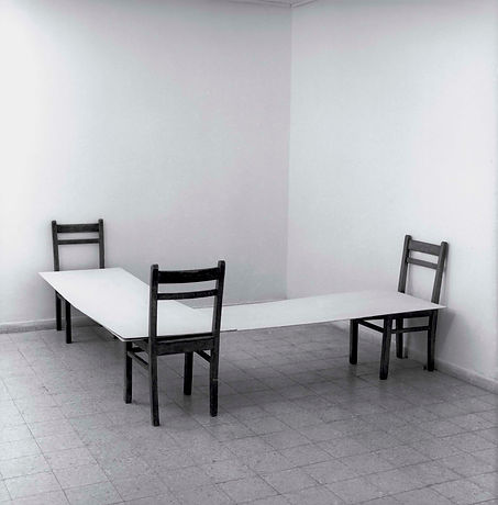 Corner, 1974, collection Tel Aviv Museum