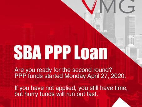SBA PPP Loan