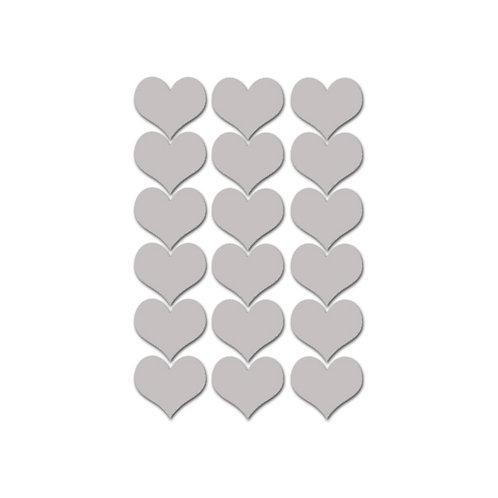 מדבקות קיר דגם לבבות