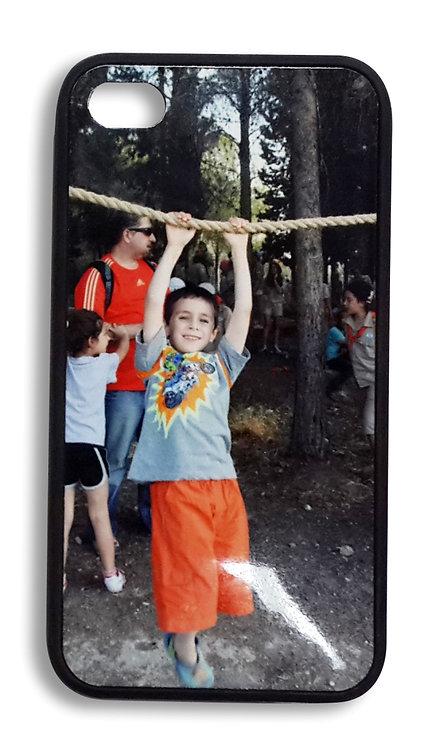 כיסוי לפלאפון בעיצוב אישי עם תמונה שלכם