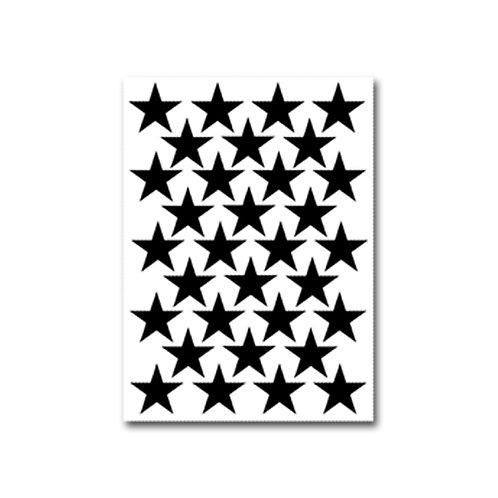 מדבקות קיר דגם כוכבים