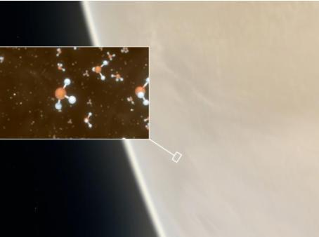 Possível indício de vida é detectado em Vênus
