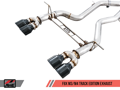 AWE Tuning BMW F8X M3/M4 Track Edition Exhaust for BMW M3 Sedan / M4 2016 Coupe