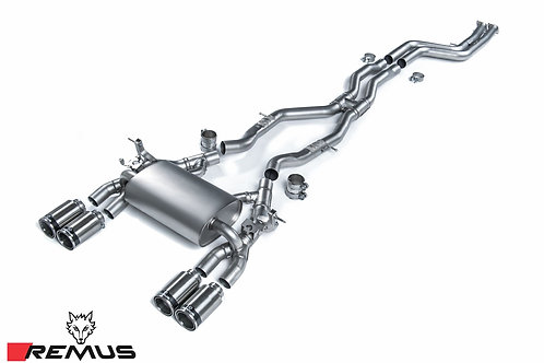 REMUS CAT-BACK EXHAUST SYSTEM - BMW M4 F82 / M4 LCI F82 COUPE