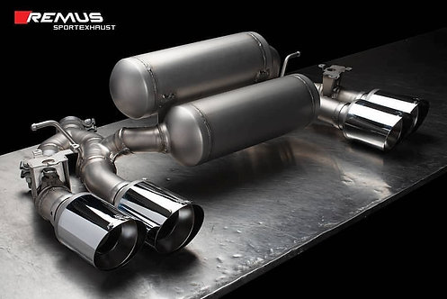 REMUS AXLE BACK EXHAUST - BMW F87 M2 COMPETITION