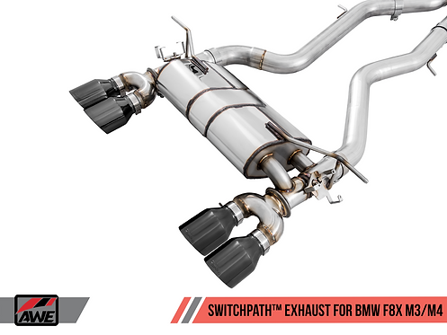 AWE Tuning BMW F8X M3/M4 SwitchPath™ Exhaust for BMW M4 2016 Coupe Any Engine