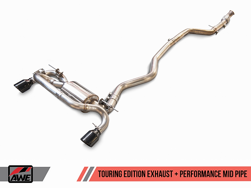 AWE Tuning BMW F3X 335i/435i Touring Edition Axle Back Exhaust for BMW 3-Series