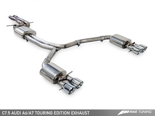 AWE Tuning Audi A7 3.0T (C7.5) Exhaust Suite for Audi A7 2017 Sedan 3.0T