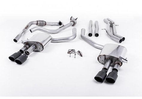Milltek Sport Exhaust Suite for Audi B9 S5 (Fit NON-Sport Diff Only)