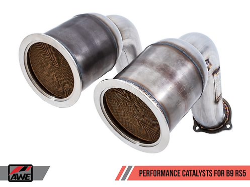 AWE Tuning Performance Catalysts for Audi B9 RS 5 (HJS 200 Cell) for Audi RS5 20
