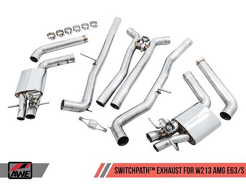 AWE Tuning SwitchPath™ Exhaust for W213 AMG E63/S Sedan / Wagon 2019