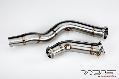 VRSF 3″ Cast Catless Downpipes 15-19 BMW M3, M4 & M2 Competition S55 F80 F82 F87