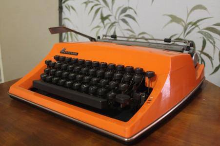 SOLD - Adler Contessa De Luxe Typewriter