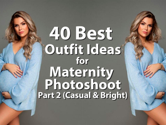 40 Best Outfits Ideas for Maternity Photoshoot (Part 2)