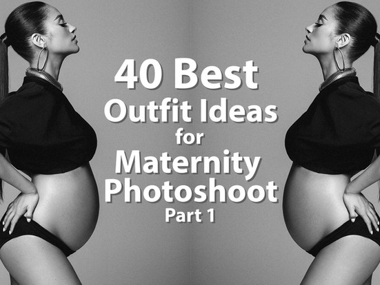 40 Best Outfit Ideas for Maternity Photoshoot (Part 1)