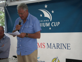The New Zealand Millennium Cup is officially open