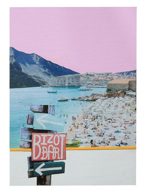 Bizot Bar collage