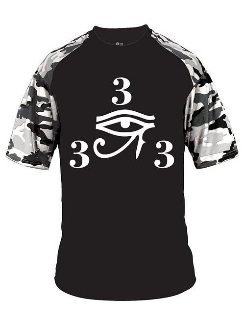 333 Camo Sport T-Shirt