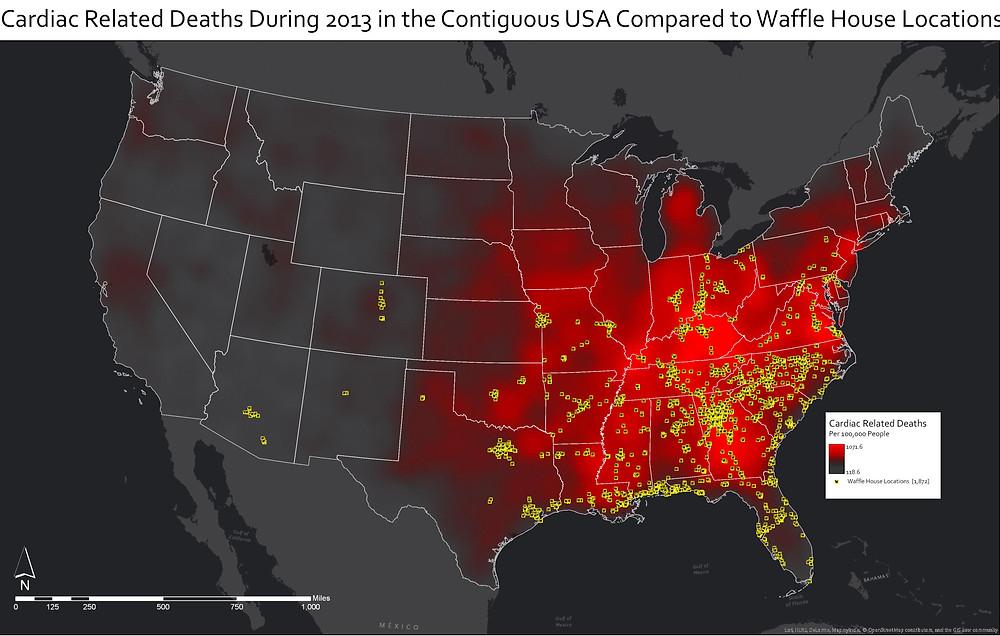 reddit cardiac deaths waffle house