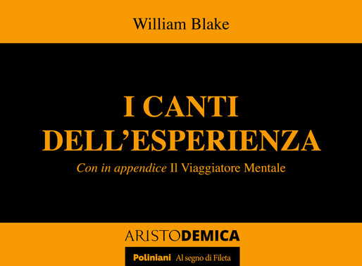 William Blake raddoppia con ARISTODEMICA