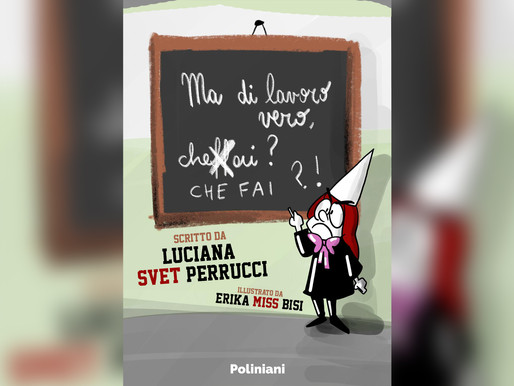 """""""Ma di lavoro VERO, cheffai?"""" - Il nuovo fumetto di Svet Krasna illustrato da Miss Bisi"""