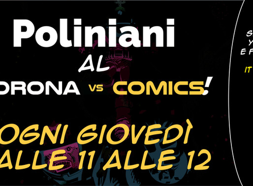 """Il team Poliniani, una nuova costante al """"Corona vs Comics""""!"""