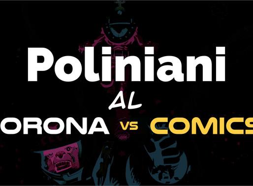 """Cronaca di un'esperienza: Poliniani al """"Corona vs Comics""""."""