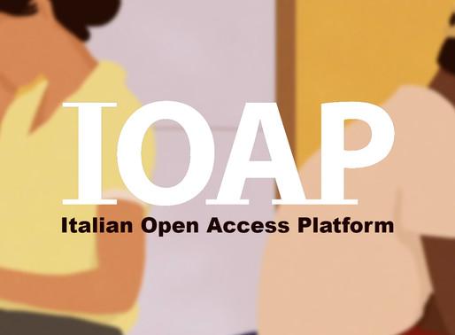 IOAP, la piattaforma Open Access per tutti.