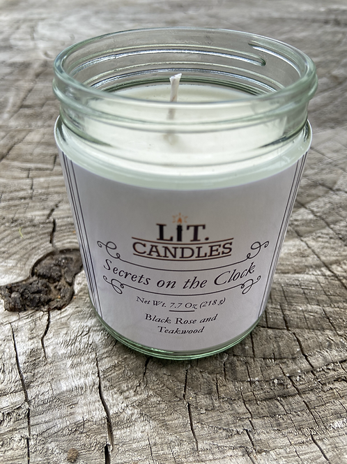 Secrets on the Clock Candle