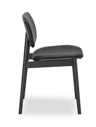 30012-008 Lando DiningChair BlackOak  Bl