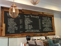 Palmers Bakery chalkboard