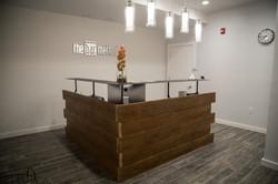 Custom built Reception Desk