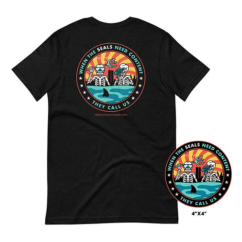 '21 SEAL Swim Bundle (T-shirt & decal)