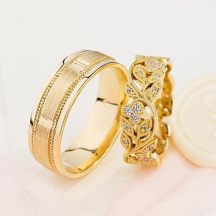 Обручальные кольца 411 Цена 20 100 грн