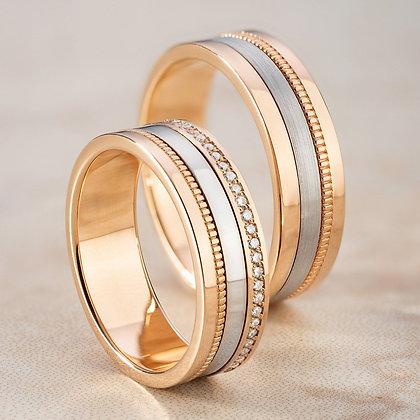Обручальные кольца 3405 Цена 20 500 грн