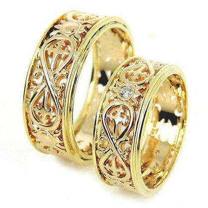 Обручальные кольца 376-2 Цена 21 500 грн