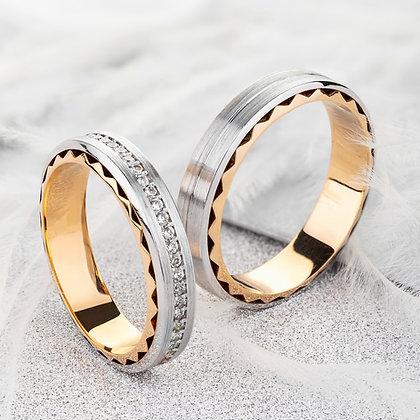Обручальные кольца 018-2 Цена 18 200 грн