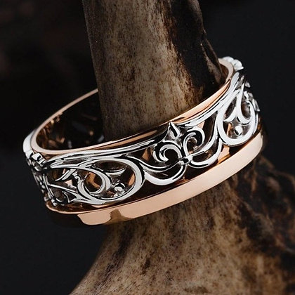 Обручальное кольцо 029-2 Цена 11 500 грн