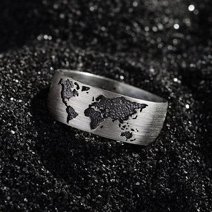 Серебрянное кольцо Карта Цена 3 500 грн