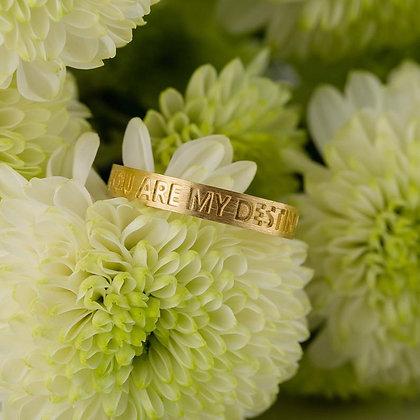 Кольцо с надписью 864 Цена 4900 грн