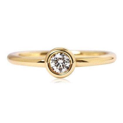 Помолвочное кольцо 746-1 Цена 4 200 грн
