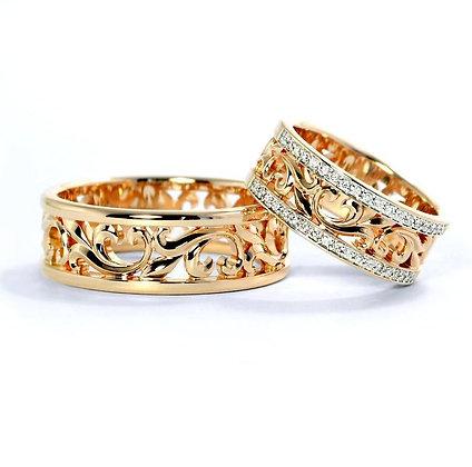 Обручальные кольца 292 Цена 17 400 грн
