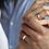 Thumbnail: Обручальные кольца 3411 Цена 21 000 грн