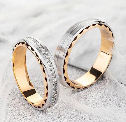 Обручальные кольца 018-2 Цена 18 600 грн