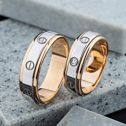 Обручальные кольца 303 Цена 21 400 грн
