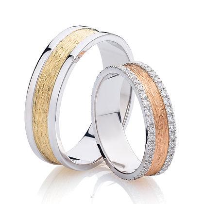 Обручальные кольца 028-2 Цена 18 000 грн