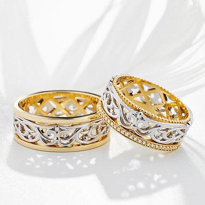 Обручальные кольца 412 Цена 21 450 грн